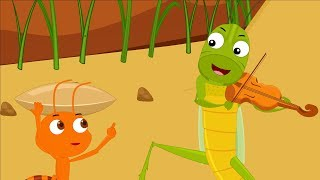 The Ant and the Grasshopper Story Song for Kids