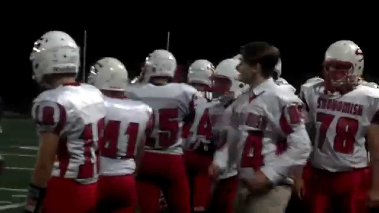 Snohomish High School Football Gp Game 2013 Youtube