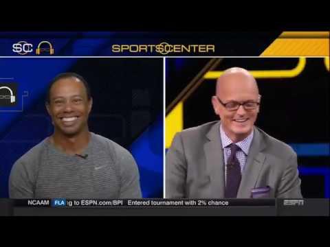 Scott Van Pelt Mocks Tiger Woods Over Balding Head Of Hair