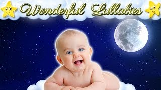 1 Hour Super Relaxing Baby Music ♥♥ Soothing Bedtime Lullabies For Toddlers ♫♫ Brahms Mozart Twinkle