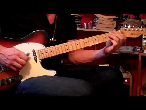 WAGON WHEEL guitar solo/demonstration/lesson-Darius Rucker