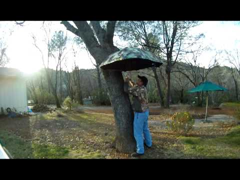 Using the SLIP System as a treestand shelter and camera
