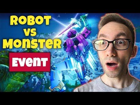 Fortnite Robot Vs Monster Event - ایونت فورتنایت و خیلی خوش گذشت