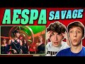 aespa - 'Savage' MV REACTION!!
