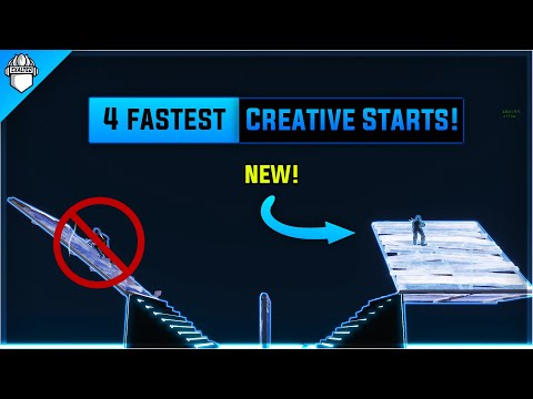 4 *NEW* Fastest 1v1 Starts In Fortnite Creative Mode!