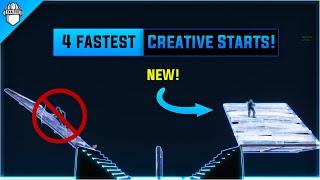 4 *NEW* Fastest 1v1 Starts In Fortnite Creative Mode!