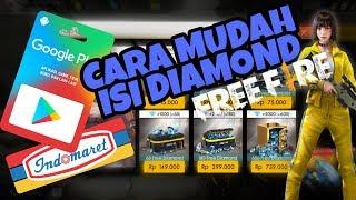 Cara Top Up Diamond Free Fire Dengan Google Play Indomaret