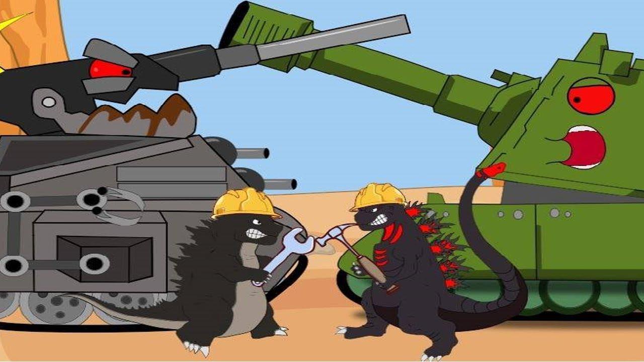 Download Godzilla vs Shin Godzilla - Tanques De Batalha - Part 1