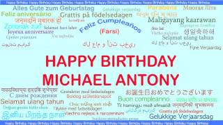 MichaelAntony   Languages Idiomas - Happy Birthday
