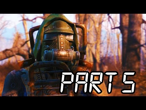 Fallout 4 Gameplay Walkthrough Part 5 - SUPER MUTANTS!! (XB1/PS4/PC 1080p HD)