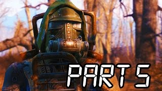 Fallout 4 Gameplay Walkthrough Part 5 - SUPER MUTANTS!! (XB1/PS4/PC 1080p HD)