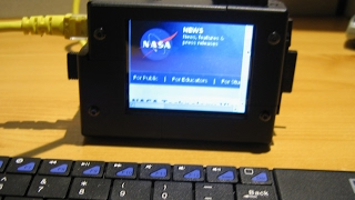 Homemade Raspberry Pi with Touchscreen, Battery, Aircrack-ng, Wardriving