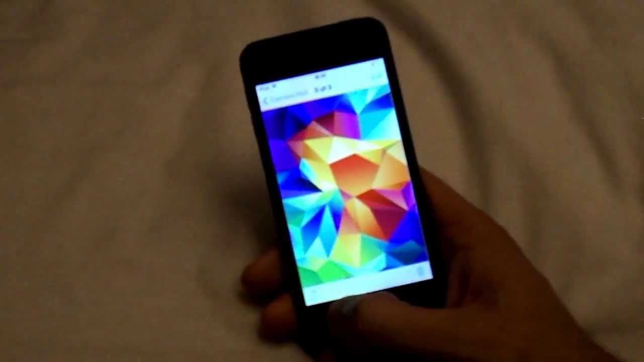 How To Get Samsung Galaxy S5 Wallpapers!
