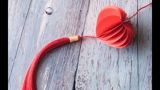 ABC TV | How To Make Mini Chinese Paper Lantern With Shape Punch - Craft Tutorial
