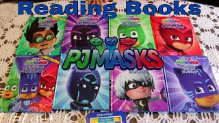 NEW PJ Masks 8 Board Books Electronic Look and Find Box Set unboxing