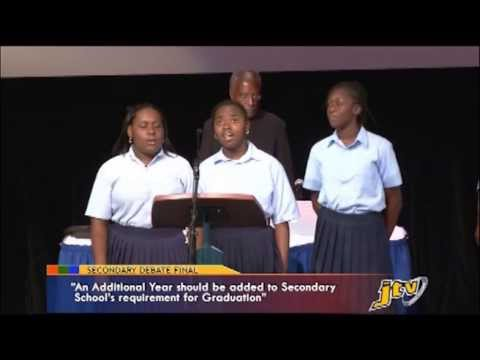 SECONDARY SCHOOLS DEBATE FINALS
