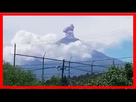 Breaking News   Mexico city earthquake: deadly volcano erupts after quake devastates capital city