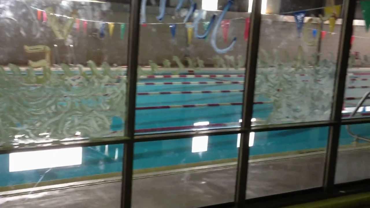 John marshall high school cleveland ohio may 2012 gym and pool youtube for Cleveland high school swimming pool