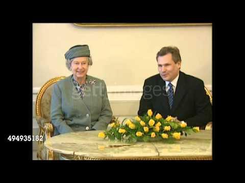 Queen Elizabeth II in Poland