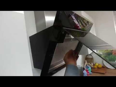 dunstabzugshaube filter reinigen bosch dwk06g660 dampfabzugshaube kopffrei youtube. Black Bedroom Furniture Sets. Home Design Ideas