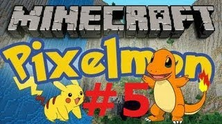 Bauxite Ore!! Lets play Pixelmon part 5