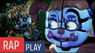 CIRCUS BABY VS SCRAP BABY // HORROR RAP BATTLES // Zagga Aliender (Videoclip Oficial)