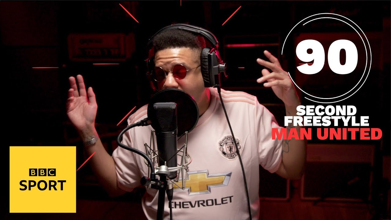 Nutty P's brilliant freestyle for Manchester United's glory days | BBC Sport