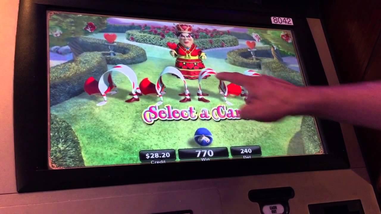 alice in wonderland slots youtube 2015 rewind