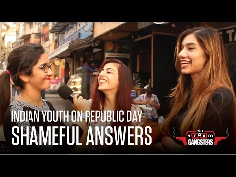 Indian Youth On Republic Day - Shameful Answers | The Nerdy Gangsters