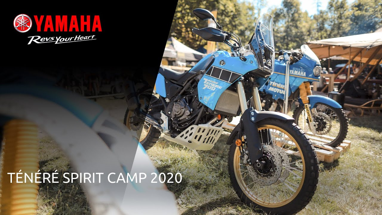 Yamaha Ténéré Spirit Camp 2020