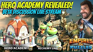 Hero Academy Empires and Puzzles is out in Beta! Revisions to Alchemy Lab!