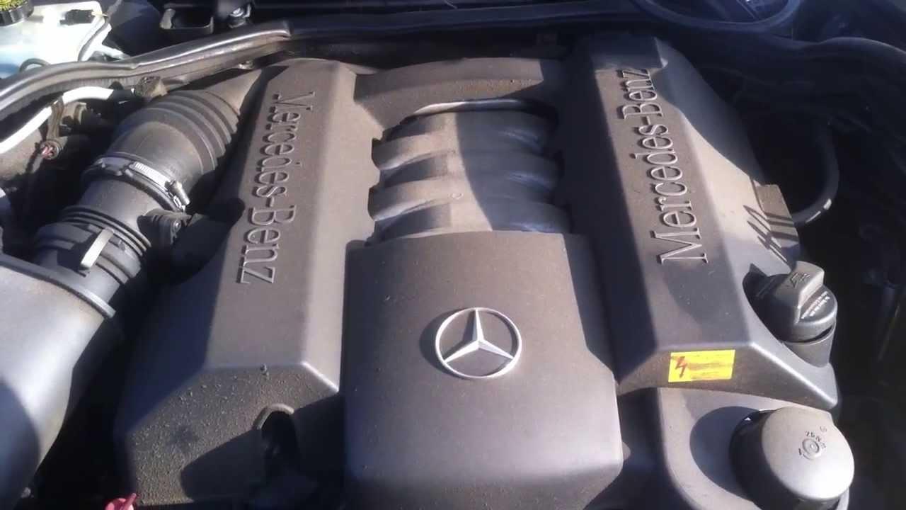 Mercedes Benz Riverside >> MERCEDES W210 E240 S1 Engine Test - YouTube