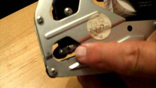 How to replace the ink roller in the Towa GS or Speedy Mark 3 price gun