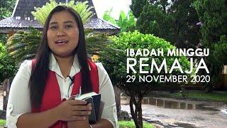 Ibadah Minggu 29 November 2020 untuk Remaja