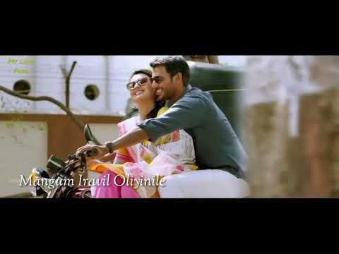 Antha saalai oram love feeling cut song for status with lyrics