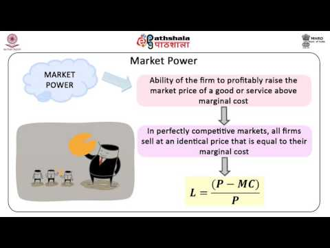 Market Power and Market Structure (BSE)