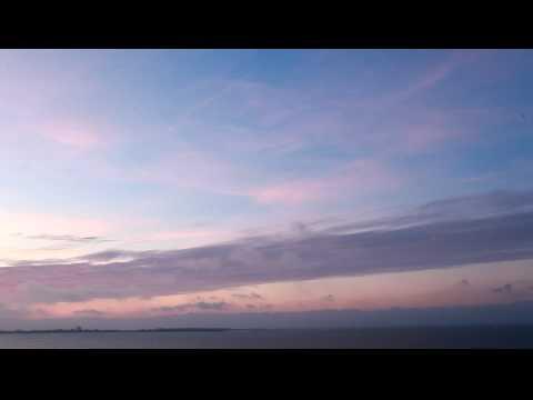 Sunset over Tallinn