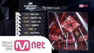 mnet 엠카운트다운 ep385 top10 of the week m countdown140717