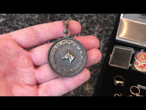 Estate Sale Finds Haul #49 - 10K 14K Gold & Sterling Antique Victorian Jewelry