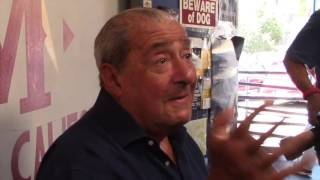 BOB ARUM REACTS ON JON JONES FAILED DRUG TEST - 'MMA HAS A MUCH WORSE PROBLEM THAN BOXING'
