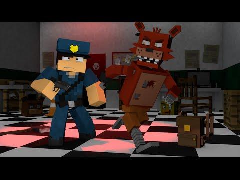 Minecraft : OS ANIMATRONICS ESTÃO PRESOS  !! - ( Polícia e Ladrão)