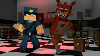 Minecraft : OS ANIMATRONICS ESTÃO PRESOS  !! - ( Polícia e Ladrão) thumbnail