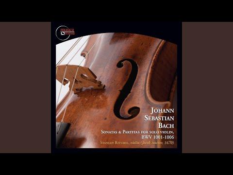 Sonatas & Partitas For Solo Violin, BWV 1001-1006: Sonata No.3 In C Major, BWV 1005 - Adagio