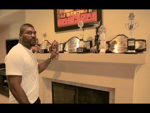 Rampage Jackson Shows Off His Crib