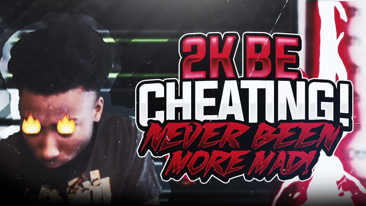 2K BE CHEATING!!!! I NEVER GOT THIS MAD BEFORE!! *MUST ...