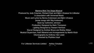Mamma Mia! - Credits Remix Song 1080pHD