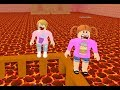 Roblox The Floor Is Lava With Molly And Daisy! - Toy Heroes Games