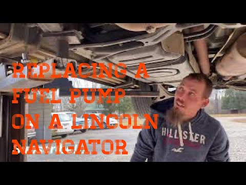 Lincoln Navigator in limp mode. How to replace a fuel filter in a 2004 Lincoln Navigator.