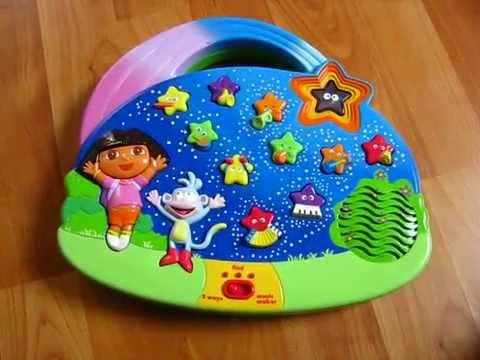 Dora the Explorer Music Maker English & Spanish Interactive Educational Toy