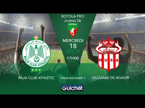RCA VS HUSA LIVE HD | الرجاء الرياضي ضد حسنية أكادير مباشر - MAROC TUBE